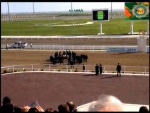 Видео падения с лошади президента Туркменистана собрало около 150 тыс. просмотров