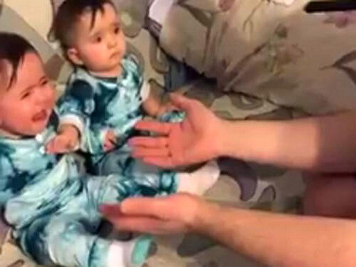 Отец напугал дочек и стал героем TikTok