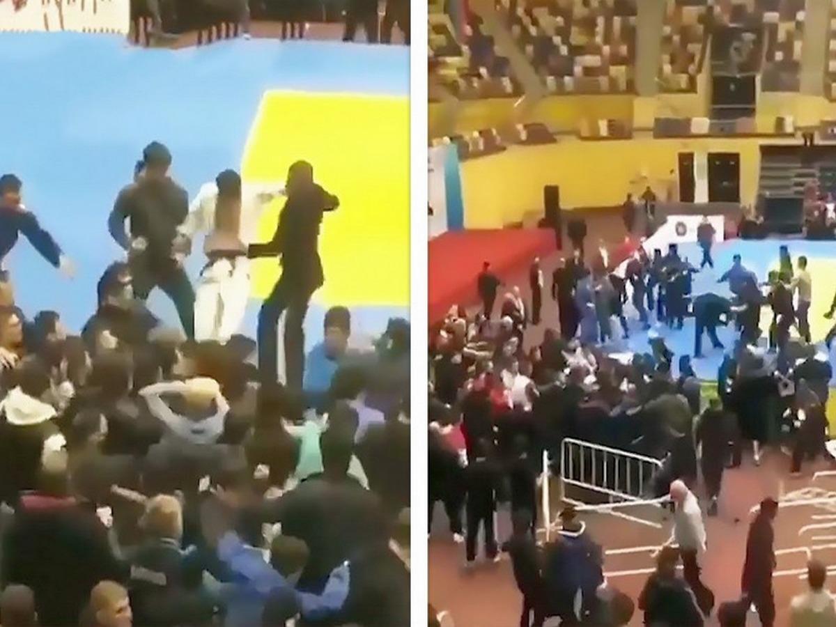 Турнир по дзюдо отменили из-за массовой драки с участием спортсменов и зрителей