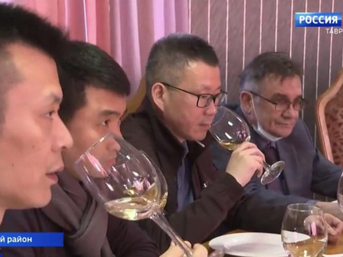 Крым «бизнес-делегация из Китая»