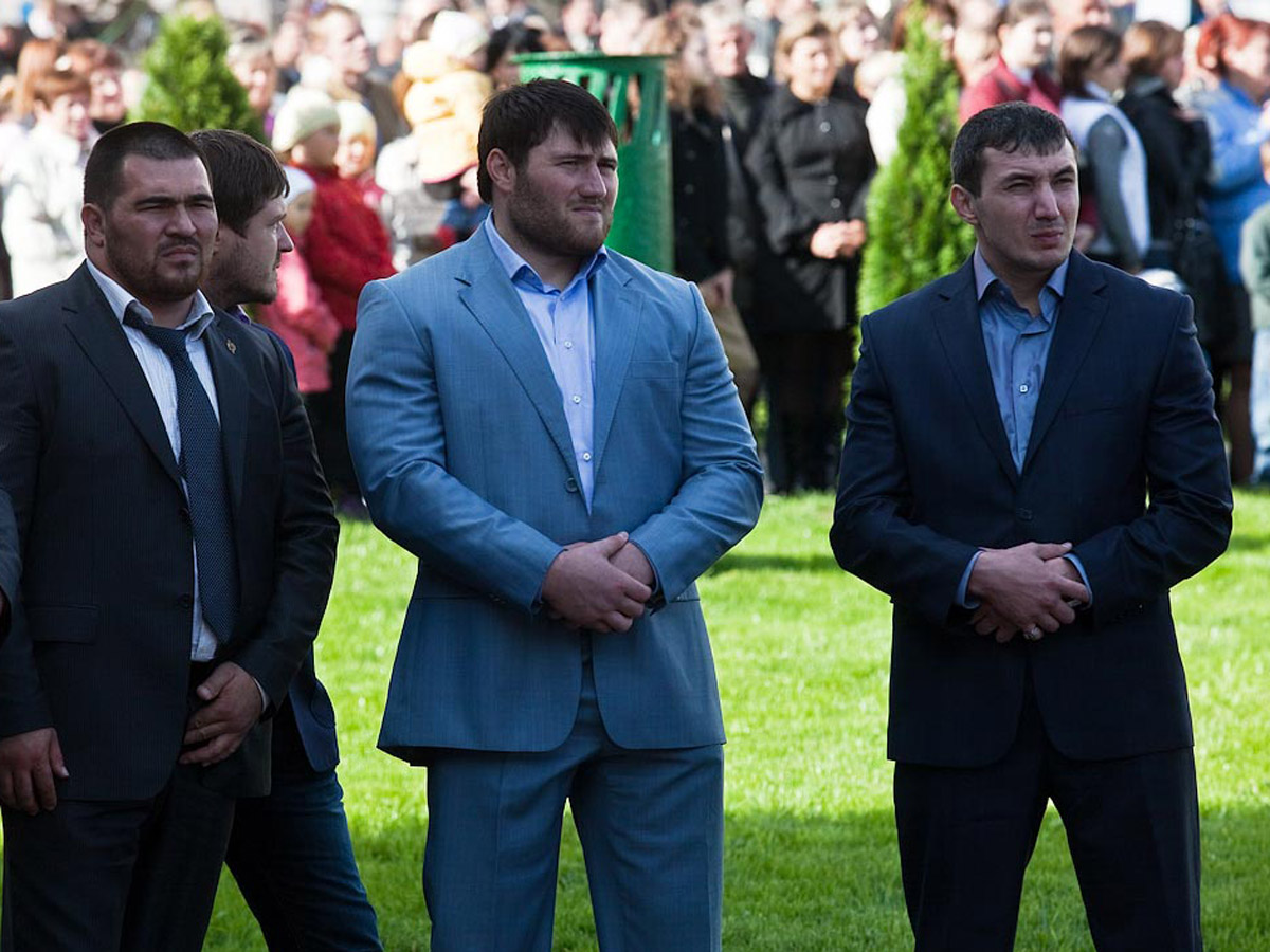 охрана Кадырова и его семьи