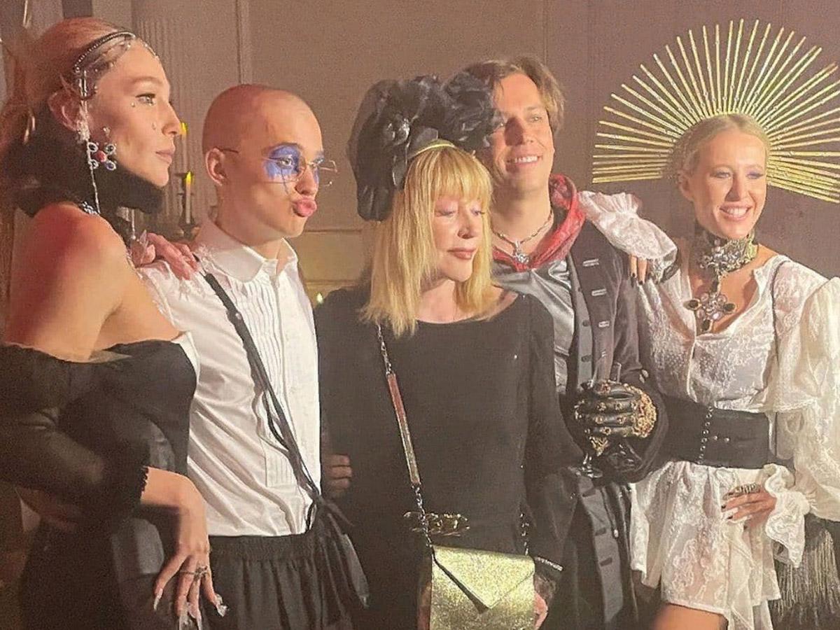 Пугачева на вечеринке Ивлеевой