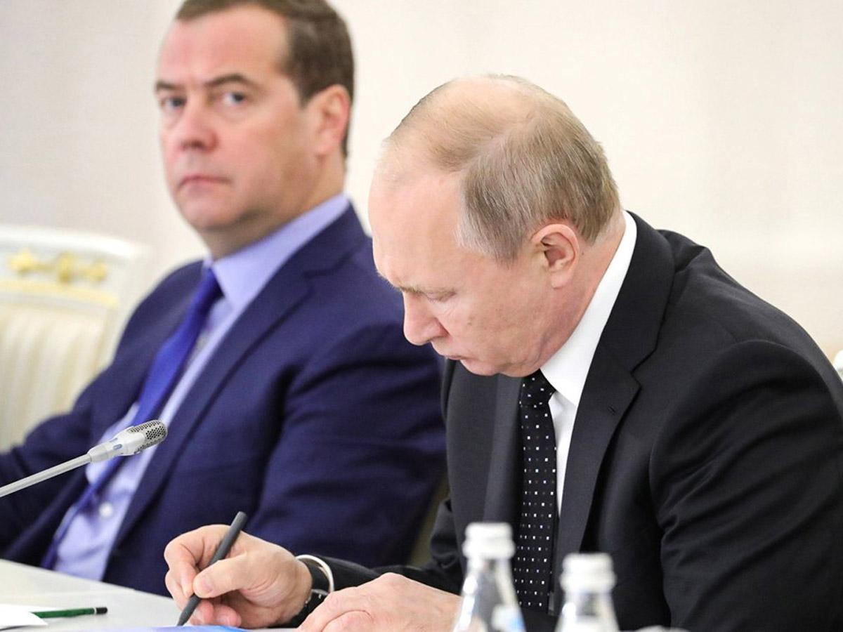 Путин Медведев новая должность