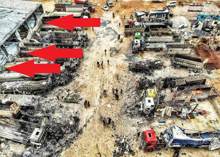 Российский истребитель уничтожил 10 турецких БТР в Идлибе одним ударом (ФОТО)