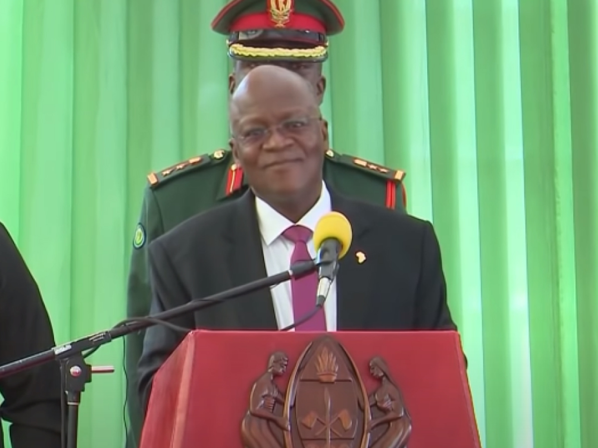 Умер президент Танзании