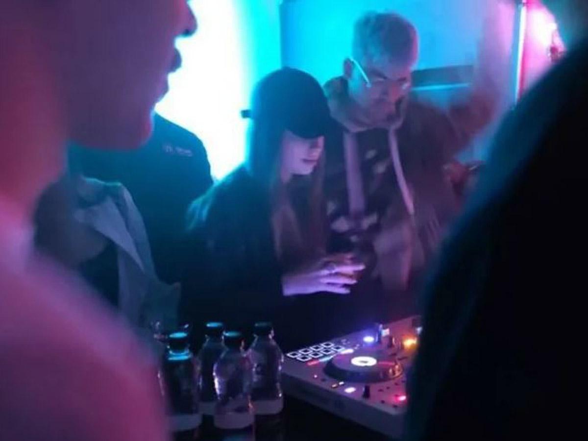 В Сети появилось видео Луиза Роговой в клубе