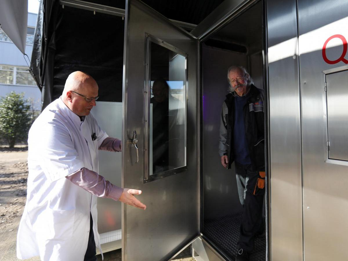 Голландец придумал альтернативный способ теста на коронавирус