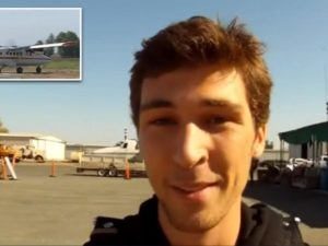 Родители сняли трогательное видео, а через несколько минут парашют сына не раскрылся