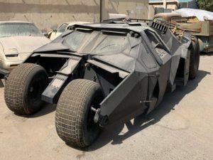 Блогеры обнаружили «Бэтмобиль» в ОАЭ