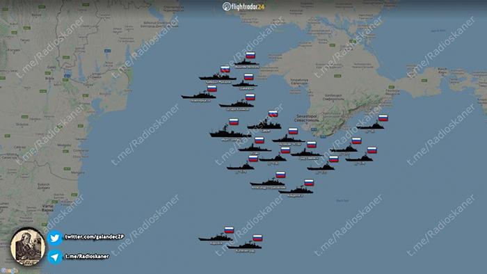 Боевые корабли РФ