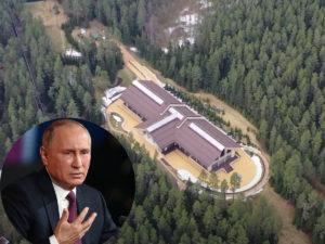 Дача Путина на Валдае