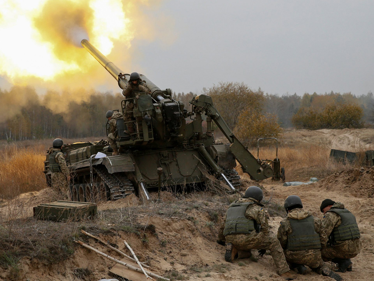 Обстрел Донбасса