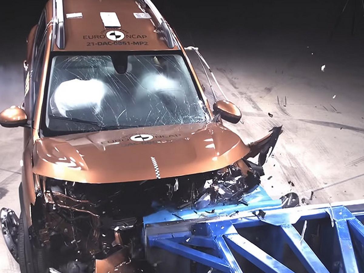 Dacia Logan и Sandero Stepway провалили краш-тест EuroNCAP