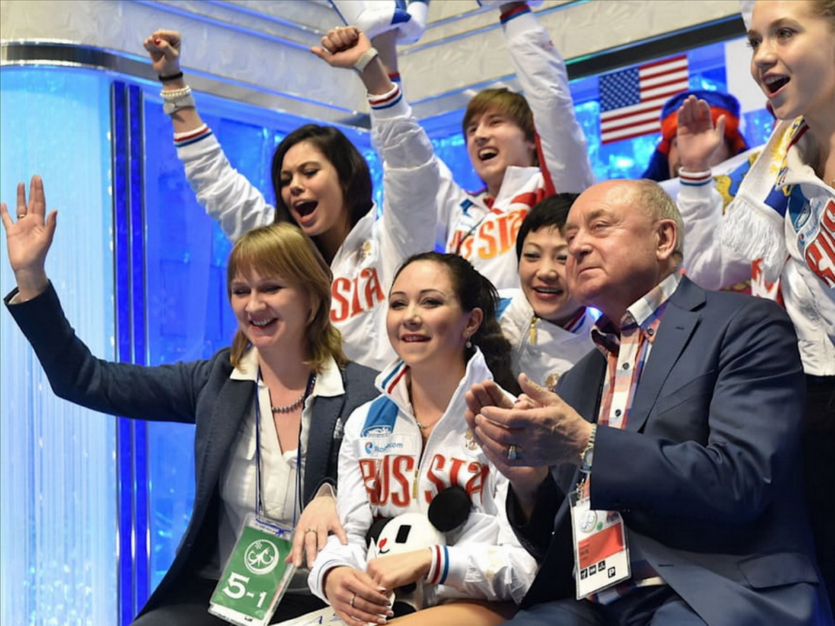 Сборная России впервые одержала победу на командном ЧМ по фигурному катанию