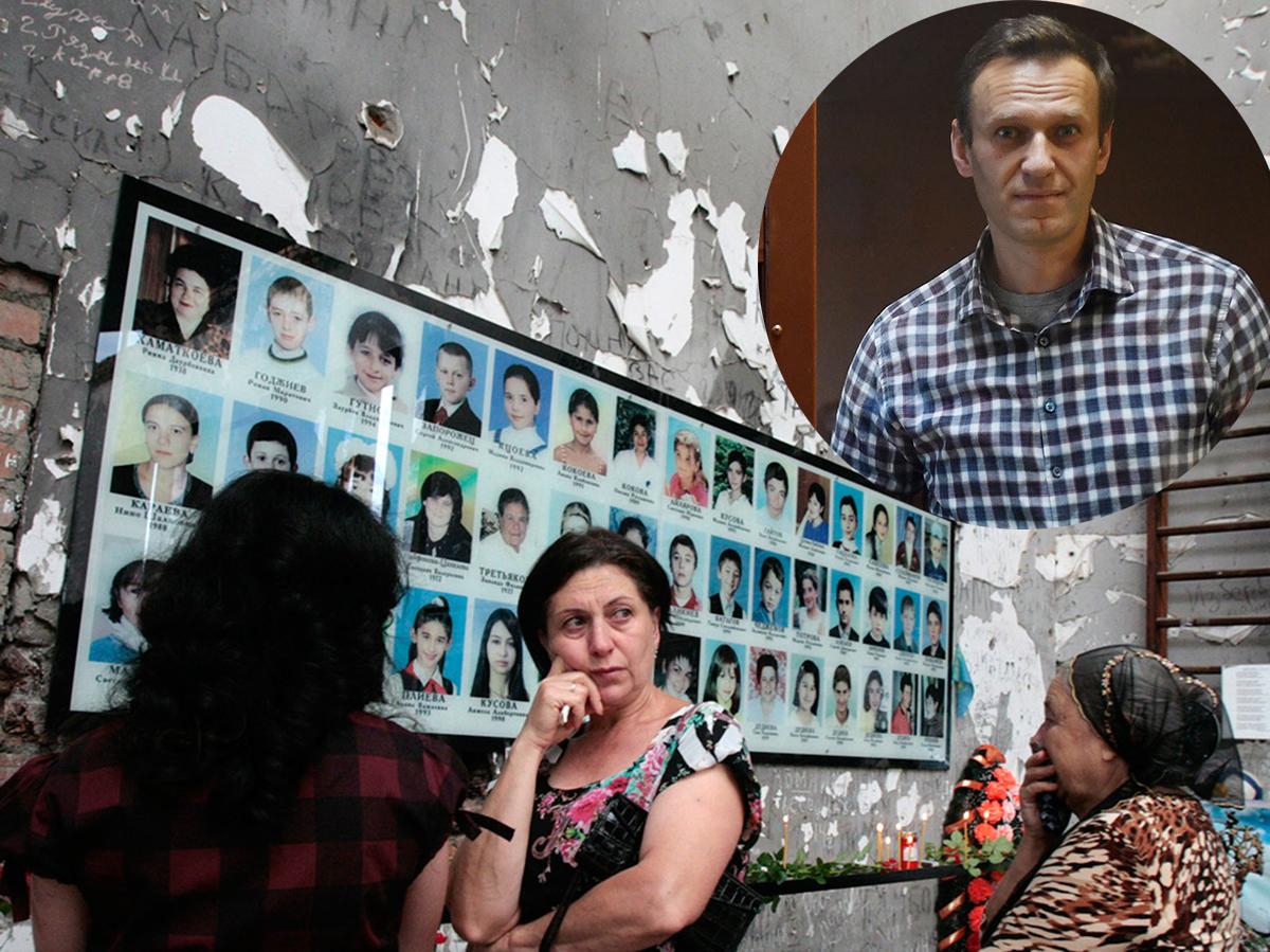 Пострадавшие в Беслане объявили голодовку в поддержку Навального
