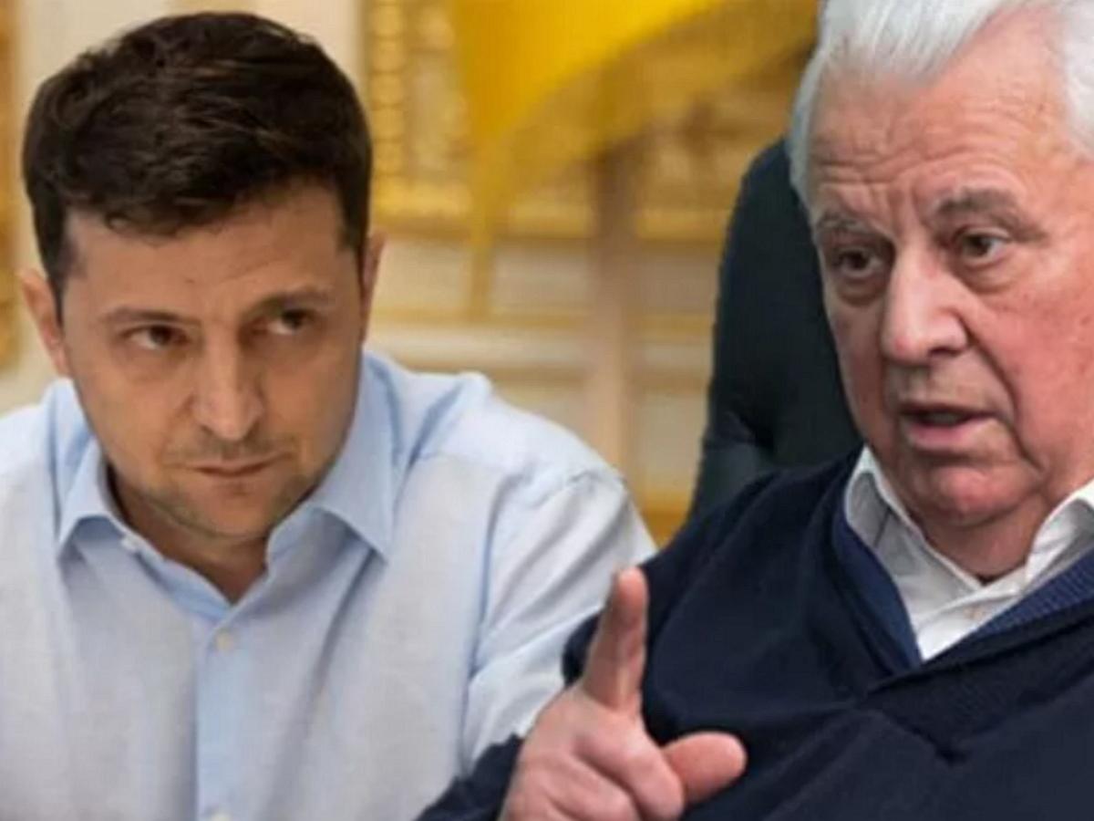Кравчук призвал Зеленского не ездить «на поклон» в Москву