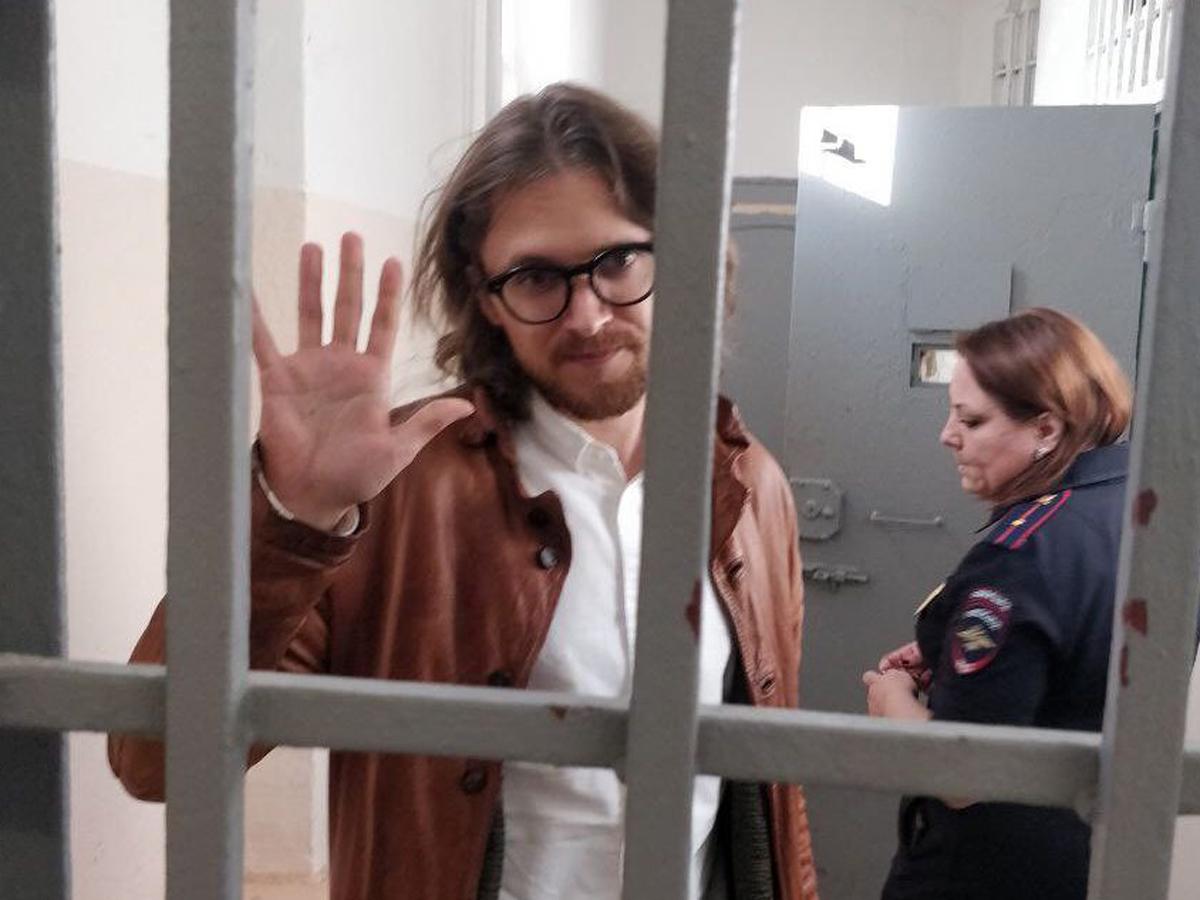 Либертарианца Светова арестовали на 9 суток