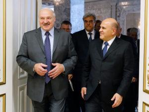 Лукашенко Мишустин