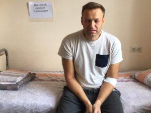Навальный в больнице