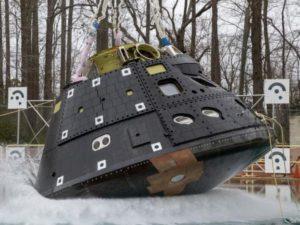 Видео NASA с тестированием модуля для приводнения экипажа набирает популярность в Сети