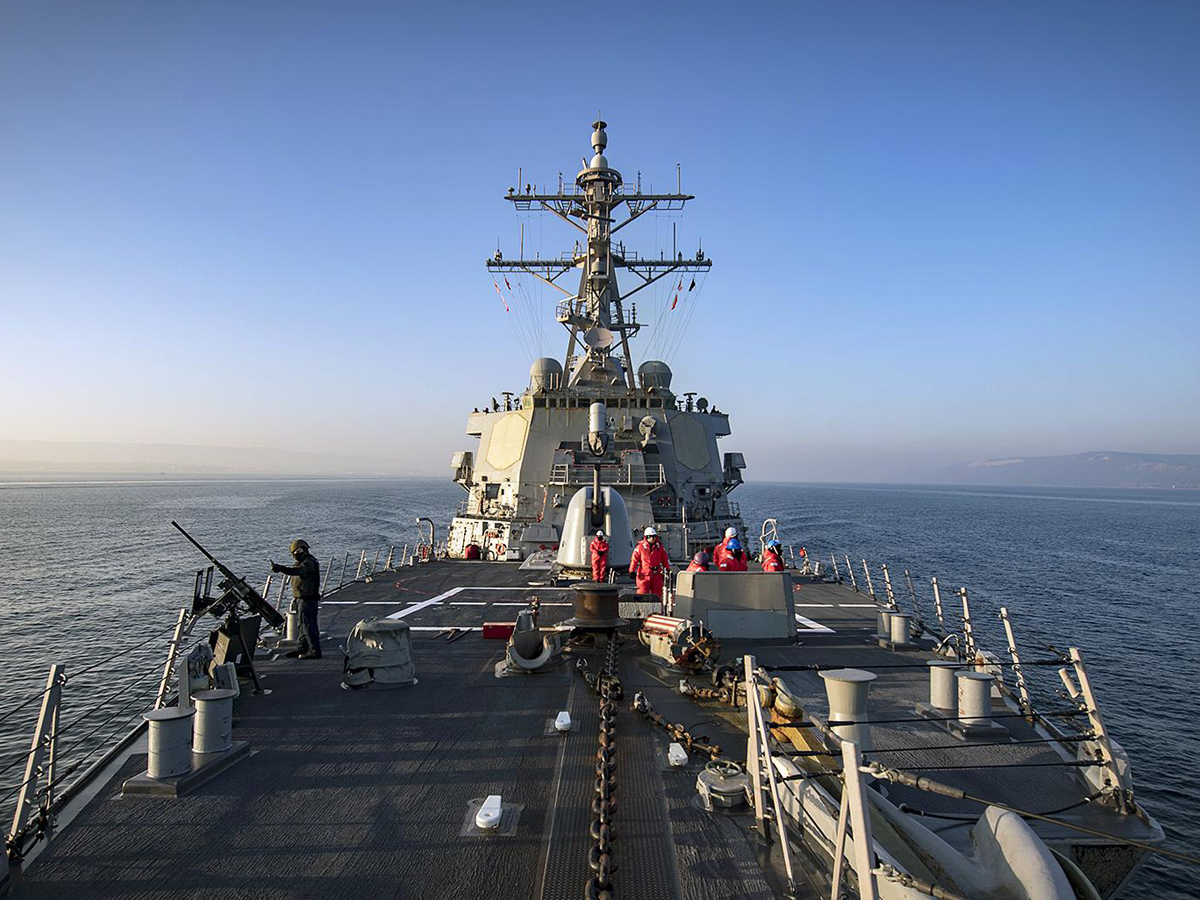 Отказ от прохода США в Черное море
