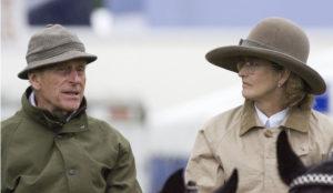 Пенелопа Ромси и принц Филипп