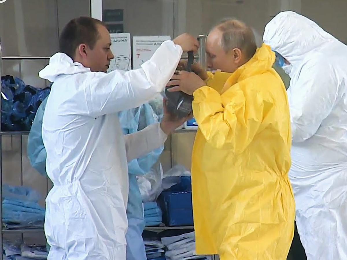 Путин коронавирус