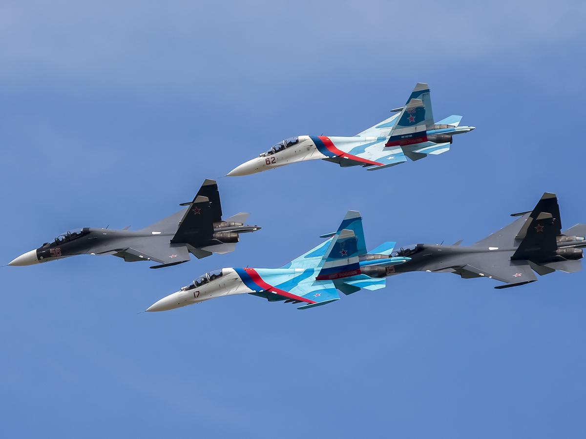 Су-27 и Су-30