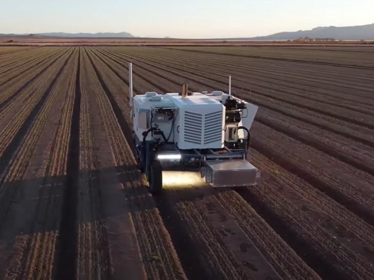 Видео с сельскохозяйственным роботом, уничтожающим сорняки лазером, посмотрели более 50 тыс. пользователей