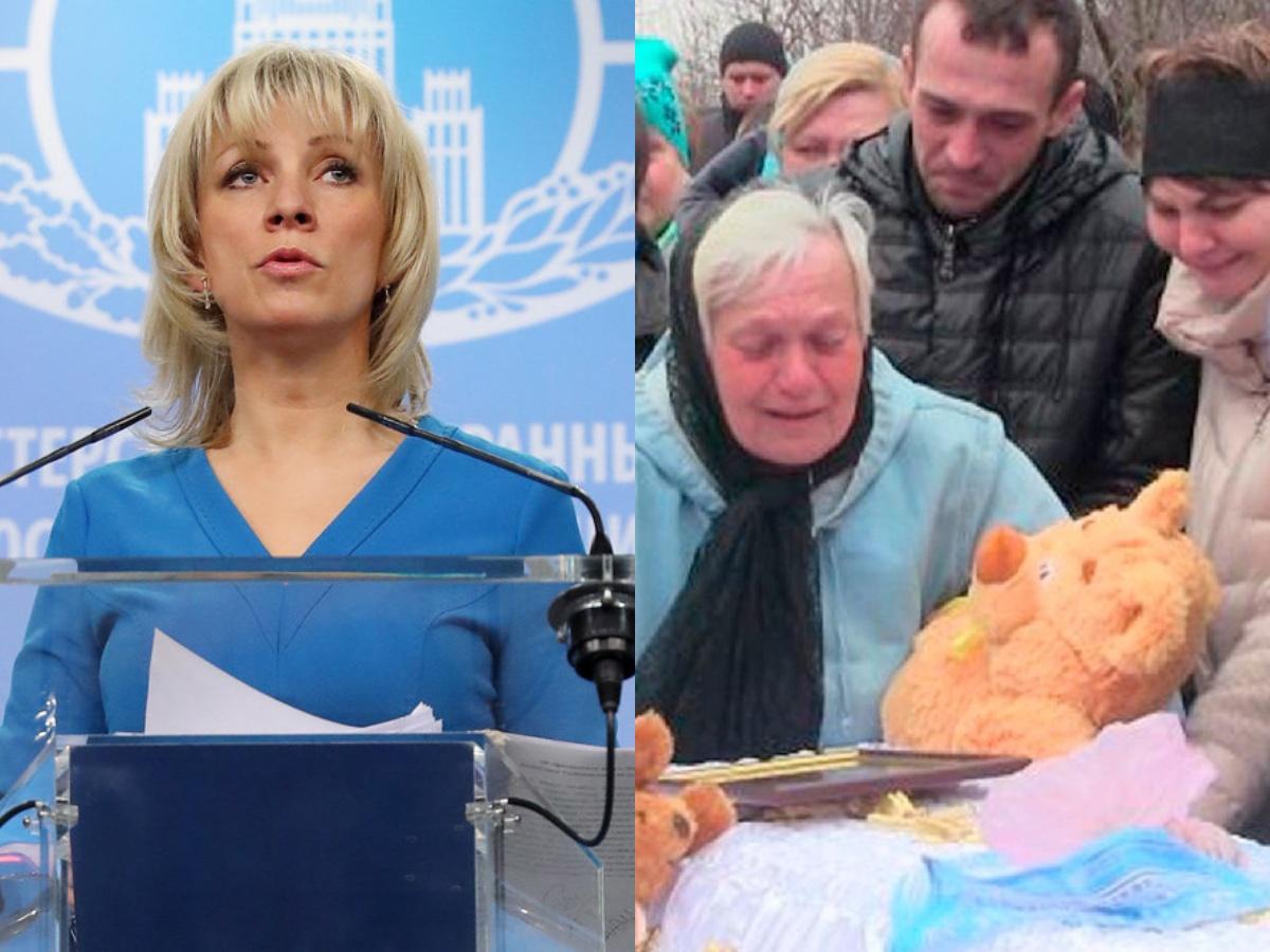 Мария Захарова дала жесткий ответ по убитому на Донбассе 4-летнему мальчику