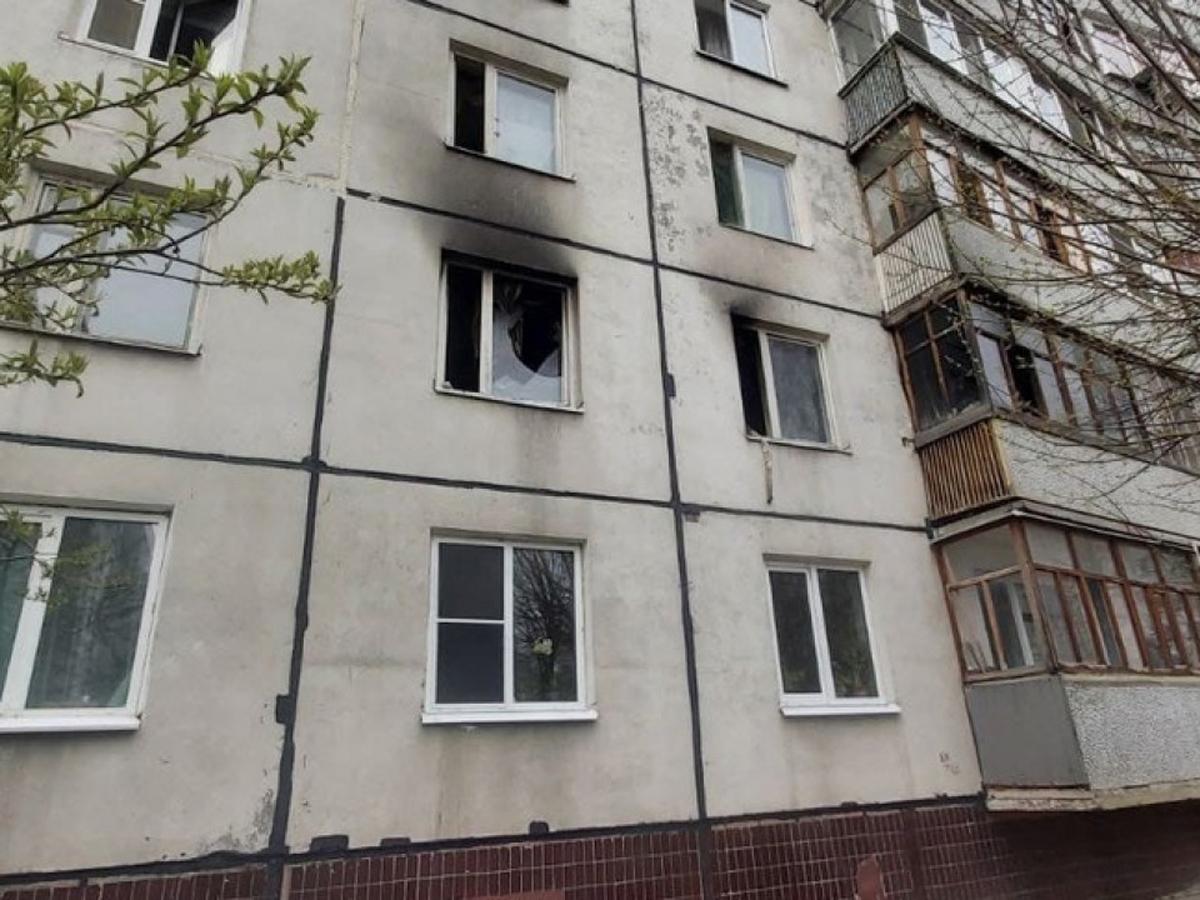 В Казани взрыв при обыске в 9-этажке