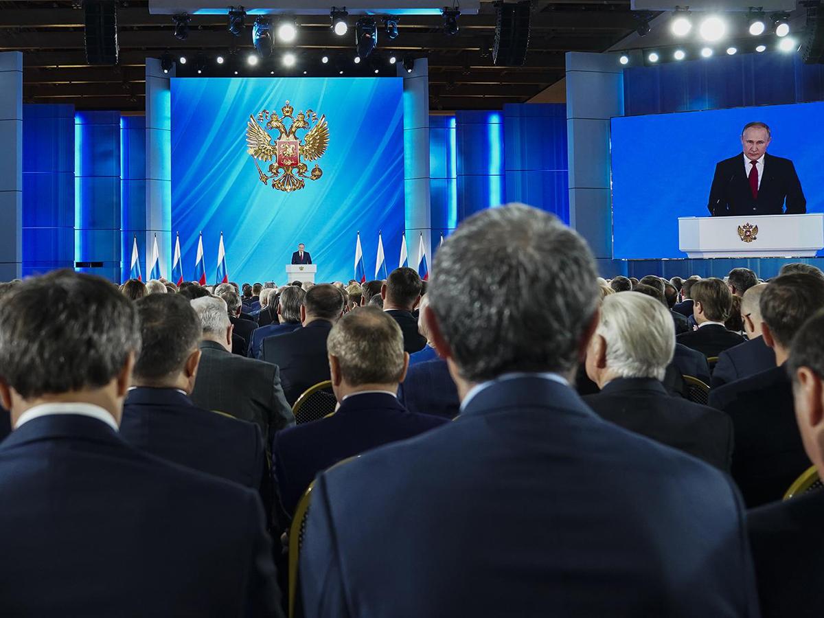 В Москве меры по безопасности послание президента