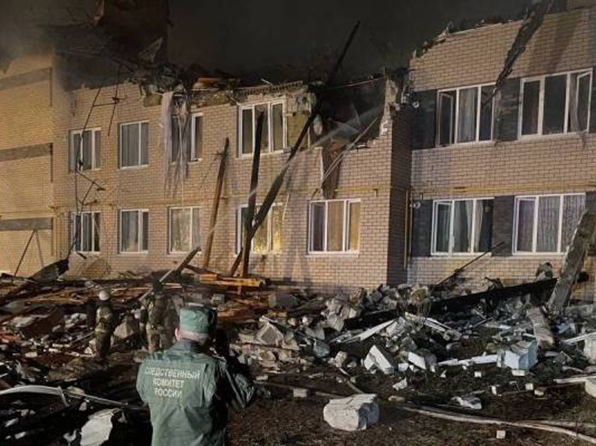 Взрыв газа в жилом доме в Нижнем Новгороде