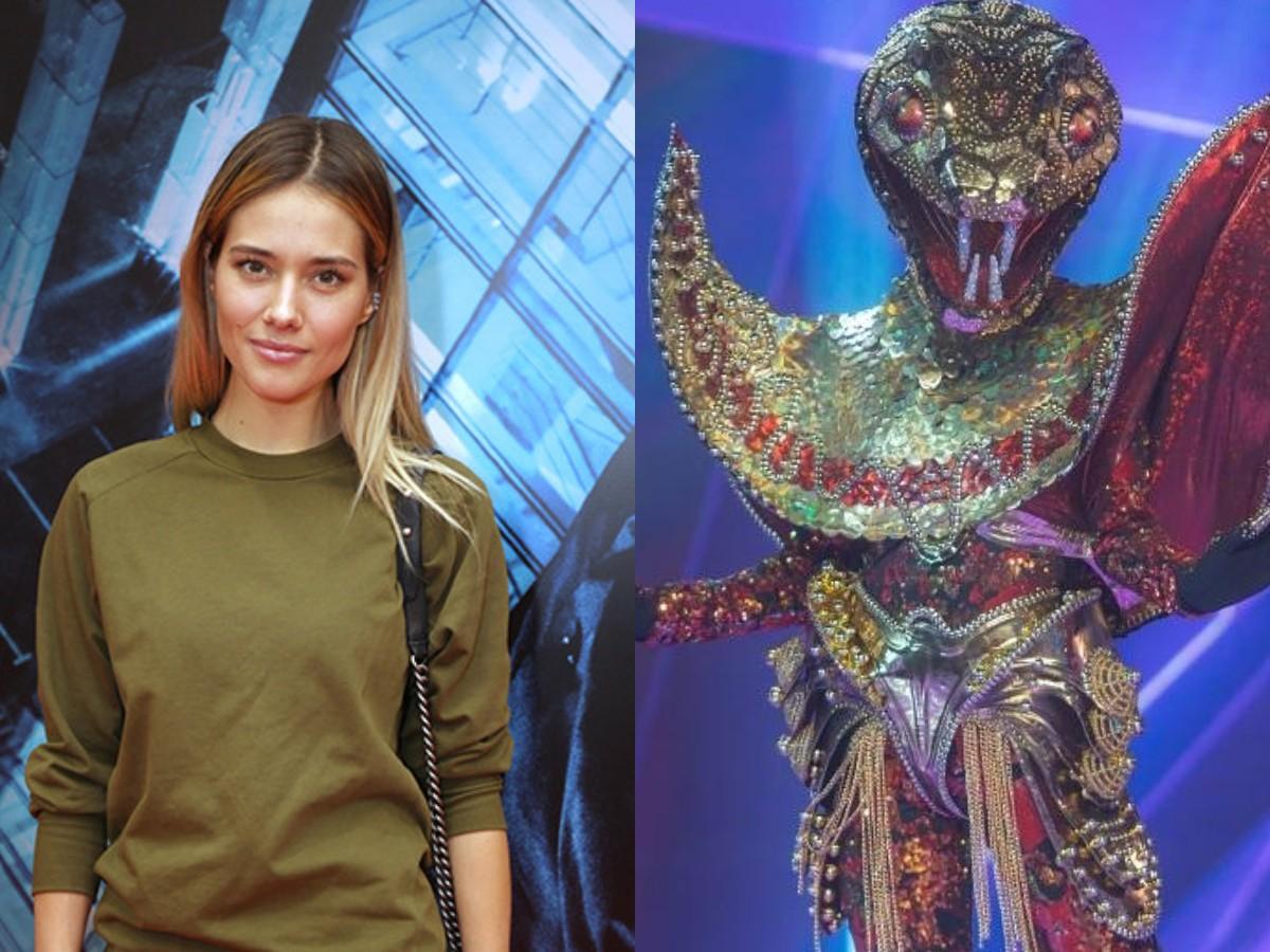 Фанаты рассекретили Юлию Паршуту в образе Змеи в «Маске»