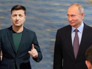 Зеленский о запросе на разговор с Путиным