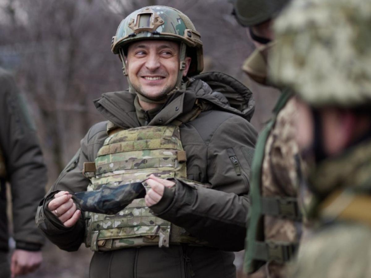 Зеленский Донбасс