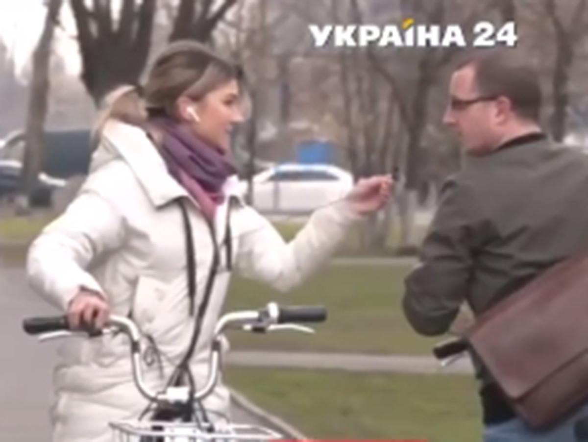 Журналистка Украина