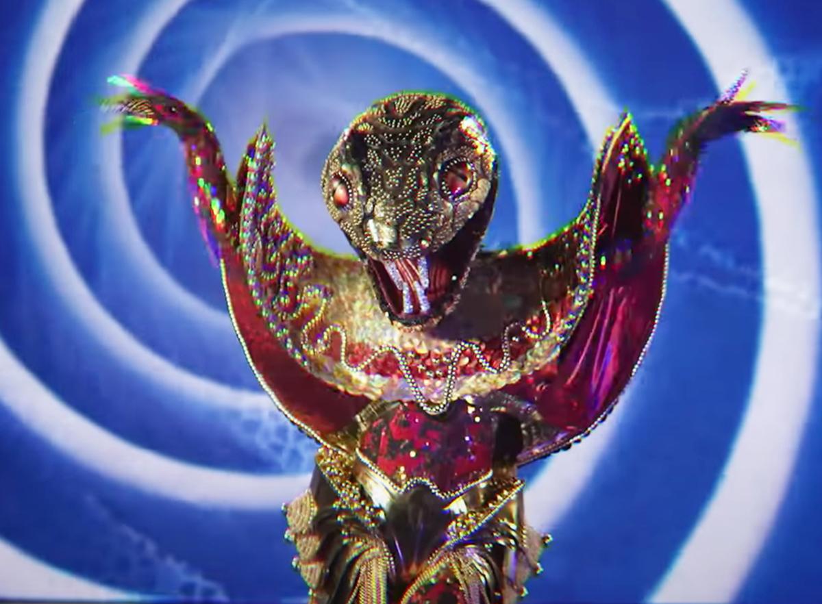 Змея шоу Маска