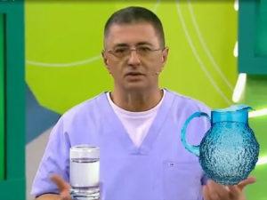 Доктор Мясников сколько нужно пить воды
