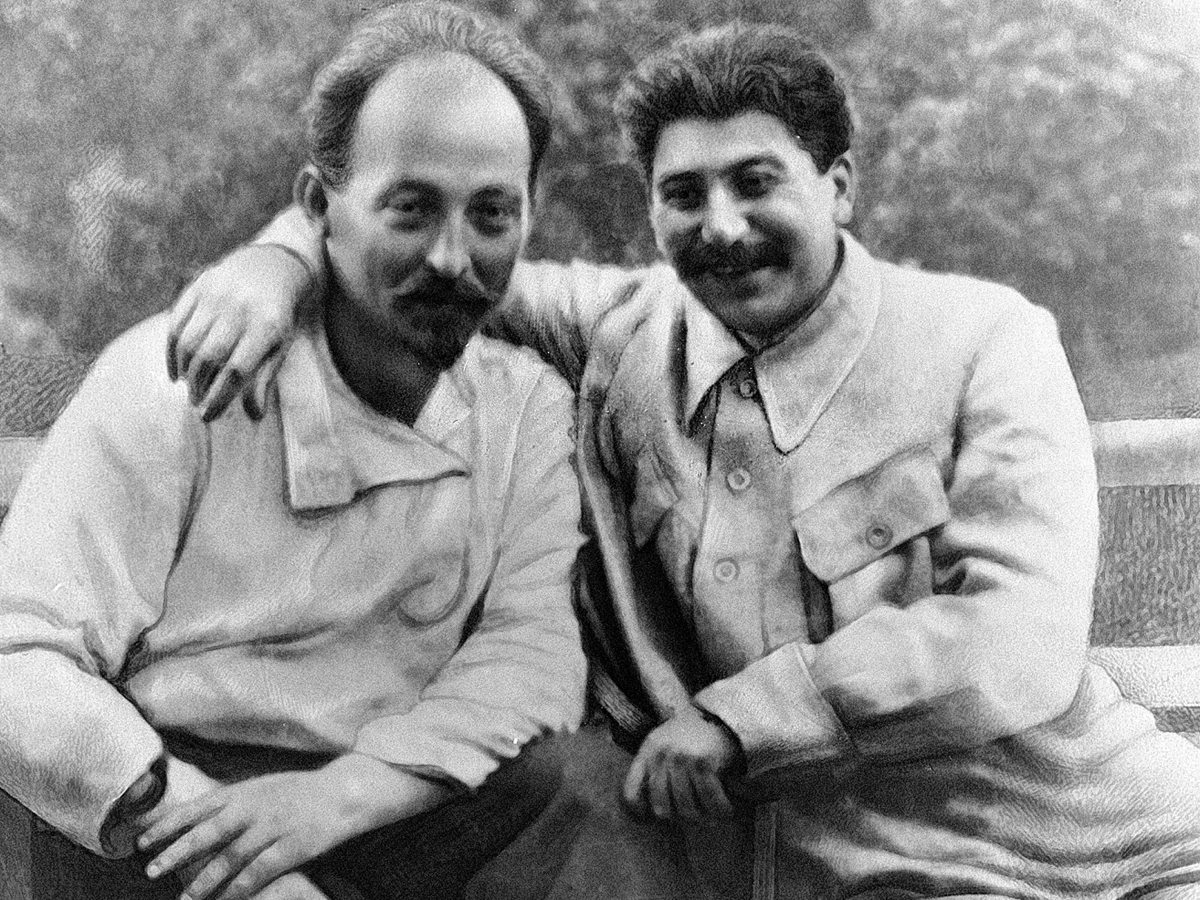 Дзержинский о слежке за Сталиным