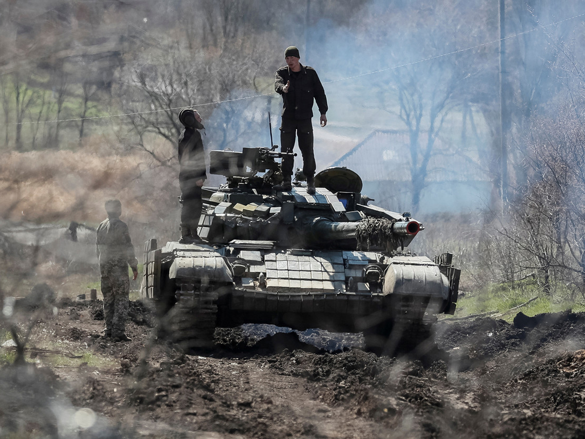 Эксперт о украинских войсках в Донбассе