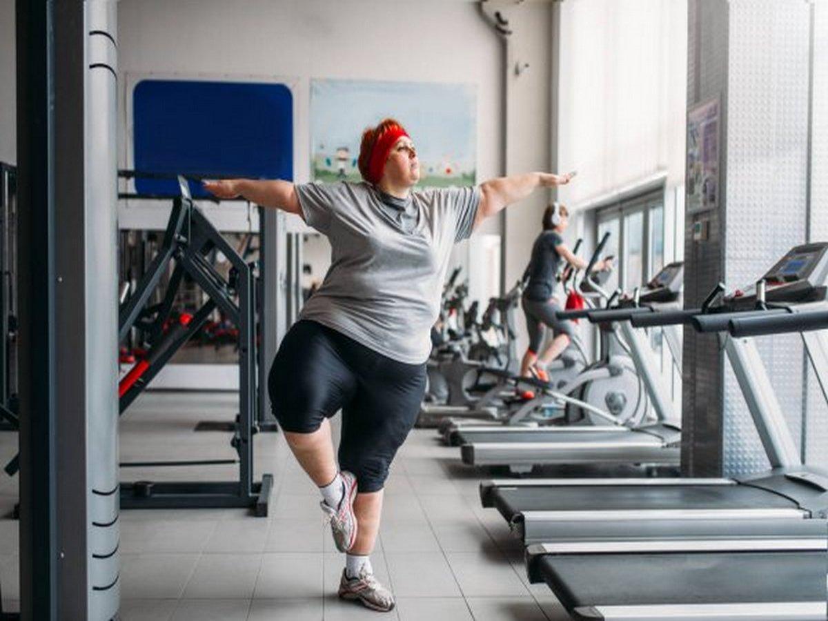 Женщина похудела на 40 килограммов на
