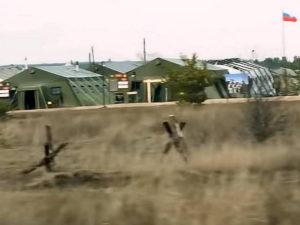Sky News показал полевой лагерь ВС РФ под Воронежем