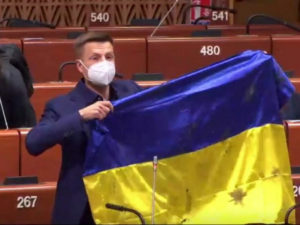 Глава ПАСЕ овации депутат Рады