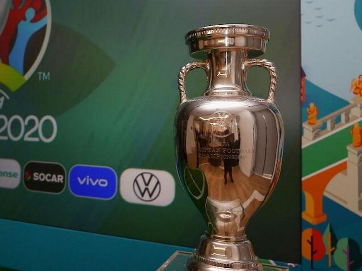 Главный трофей Евро-2020 едва не разбился в прямом эфире