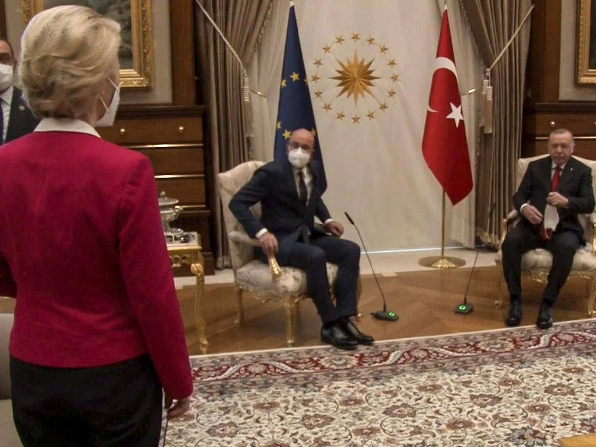 Лидеры ЕС скандал в Турции