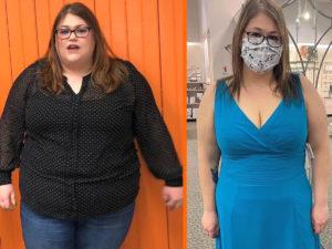 Американка похудела на 100 килограммов, потому что