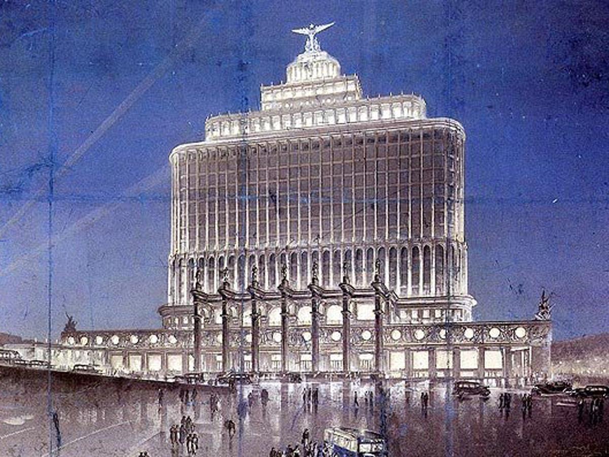 Новая Москва Сталина фильм