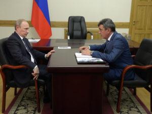 Путин Меняйло возглавить Северную Осетию
