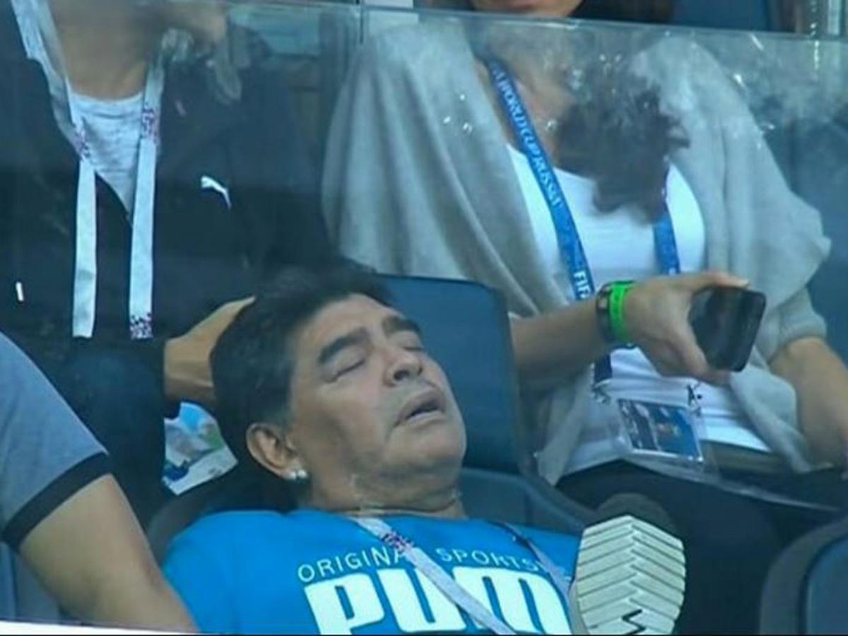 Марадона был мертв уже несколько часов